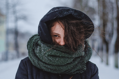 Don't let that scarf ruin your posture