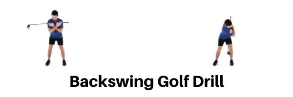 Backswing Golf Drill