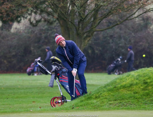 Golfers are back in the swing of it